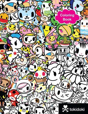 Tokidoki Coloring Book Cover Image
