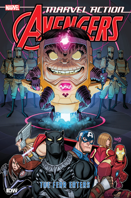 Marvel Action: Avengers: The Fear Eaters (Book Three) Cover Image