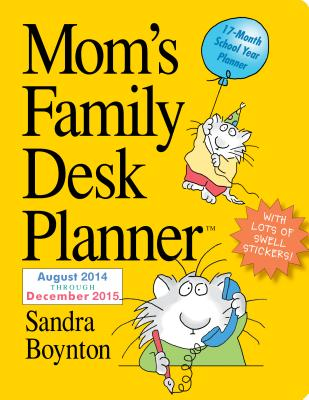 Cover for Mom's Family 2015 Desk Planner