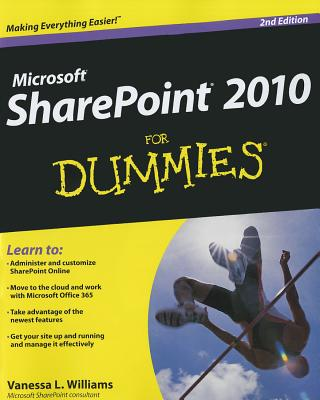 Microsoft Sharepoint 2010 for Dummies Cover Image