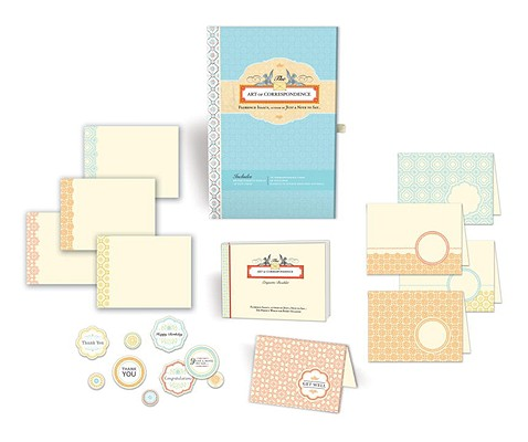The Art of Correspondence: An Etiquette Booklet and Complete Set of Stationery Cover Image