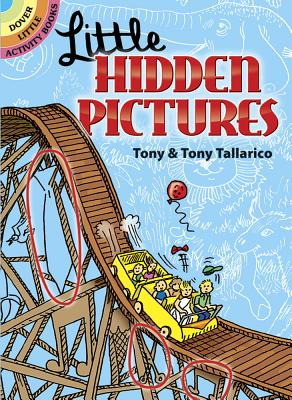Little Hidden Pictures (Dover Little Activity Books) Cover Image