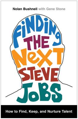 Finding the Next Steve Jobs Cover