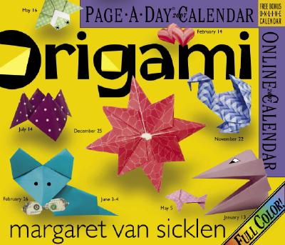Cover for Origami Page-A-Day Calendar 2007