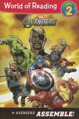 The Avengers: Assemble! (Level 2) (World of Reading) Cover Image