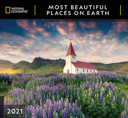 Cal 2021- National Geographic Most Beautiful Places on Earth Wall Cover Image