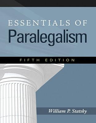 Essentials of Paralegalism Cover Image