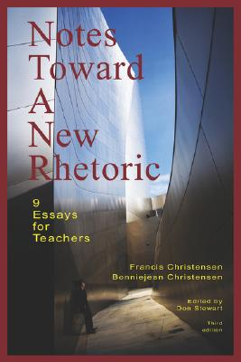 Cover for Notes Toward a New Rhetoric