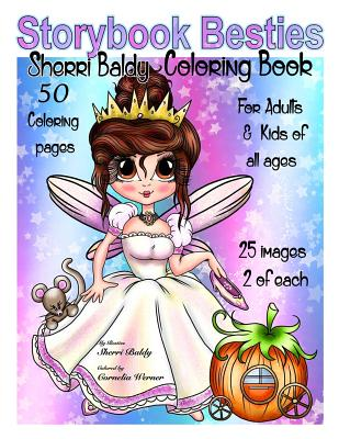 Storybook Besties Sherri Baldy Coloring Book Cover Image
