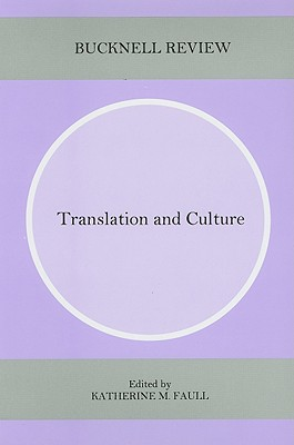 Cover for Translation and Culture