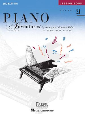 Level 2a - Lesson Book: Piano Adventures Cover Image