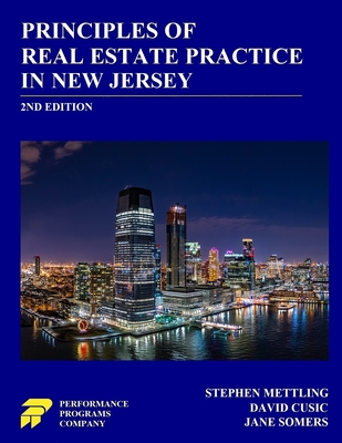 Principles of Real Estate Practice in New Jersey: 2nd Edition Cover Image
