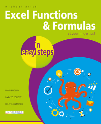 Excel Functions & Formulas in Easy Steps Cover Image
