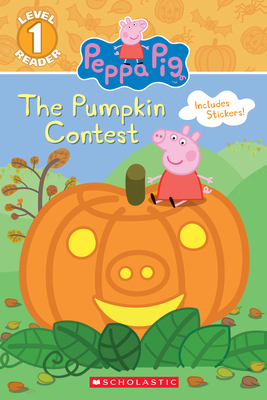 The Pumpkin Contest (Peppa Pig: Level 1 Reader) Cover Image