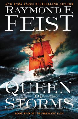 Queen of Storms: Book Two of The Firemane Saga (Firemane Saga, The #2) Cover Image