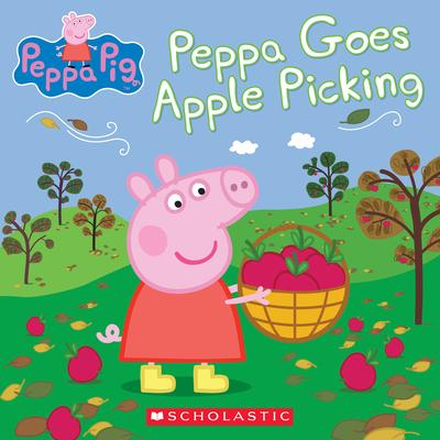 Peppa Goes Apple Picking (Peppa Pig) Cover Image