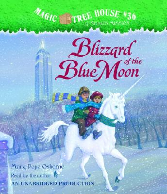 Magic Tree House #36: Blizzard of the Blue Moon Cover Image