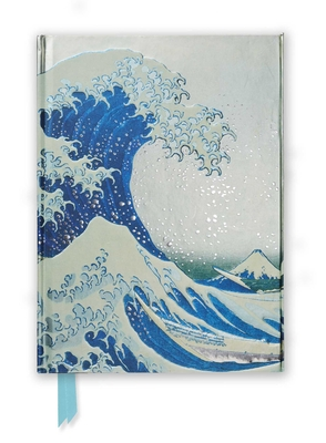 Hokusai: The Great Wave (Foiled Journal) (Flame Tree Notebooks #9) Cover Image
