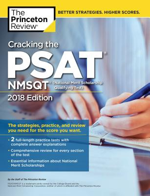 Cracking the PSAT/NMSQT with 2 Practice Tests, 2018 Edition  cover image