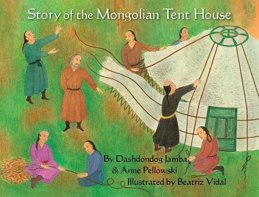 Story of the Mongolian Tent House Cover Image