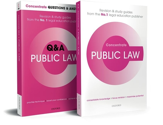 Public Law Revision Concentrate Pack: Law Revision and Study Guide Cover Image