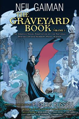 The Graveyard Book Graphic Novel Cover
