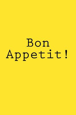 Bon Appetit!: Notebook Cover Image