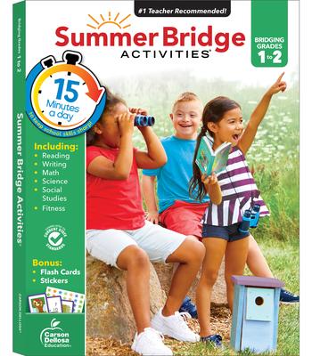 Summer Bridge Activities(r), Grades 1 - 2 Cover Image