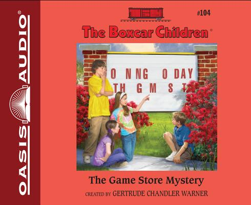 The Game Store Mystery (Library Edition) (The Boxcar Children Mysteries #104) Cover Image