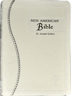 Saint Joseph Medium Size Gift Bible-NABRE Cover Image