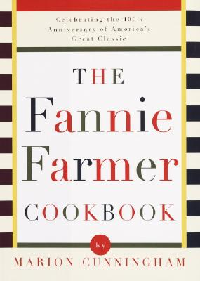 The Fannie Farmer Cookbook Cover