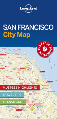 Lonely Planet San Francisco City Map Cover Image