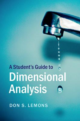 A Student's Guide to Dimensional Analysis Cover Image