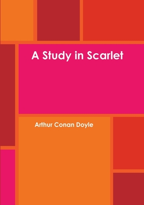 Cover for A Study in Scarlet