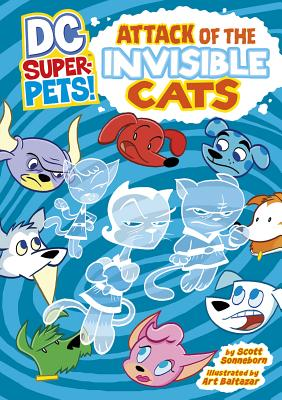 Attack of the Invisible Cats Cover