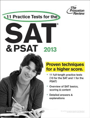 11 Practice Tests for the SAT and PSAT, 2013 Edition Cover Image