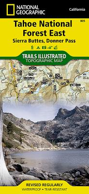 Tahoe National Forest East [sierra Buttes, Donner Pass] (National Geographic Maps: Trails Illustrated #805) Cover Image