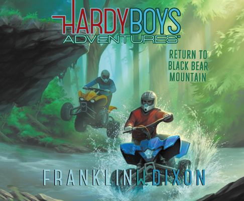 Return to Black Bear Mountain (Library Edition) (Hardy Boys Adventures #20) Cover Image
