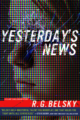 Yesterday's News (Clare Carlson Mystery #1) Cover Image