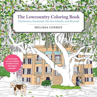 Cover for The Lowcountry Coloring Book
