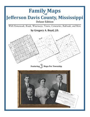 Family Maps of Jefferson Davis County, Mississippi Cover Image
