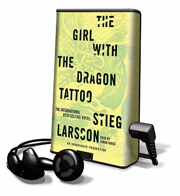 The Girl with the Dragon Tattoo (Playaway Adult Fiction) Cover Image