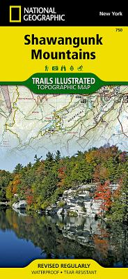 Shawangunk Mountains (National Geographic Trails Illustrated Map #750) Cover Image