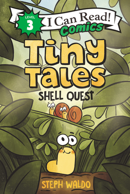 Tiny Tales: Shell Quest (I Can Read Comics Level 3) Cover Image