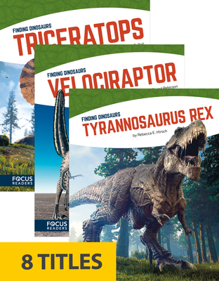 Finding Dinosaurs (Paperback Set of 8) Cover Image