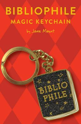 Bibliophile Magic Keychain: (Book Lover Gift, Book Club Gift) Cover Image