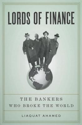 Lords of Finance Cover