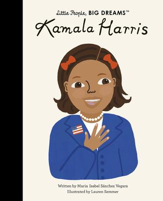 Kamala Harris (Little People, BIG DREAMS) Cover Image