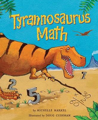 Tyrannosaurus Math Cover