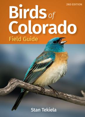 Birds of Colorado Field Guide (Bird Identification Guides) Cover Image